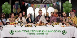 10 YEAR ANNIVERSARY TOUR CALENDAR   All-in Global