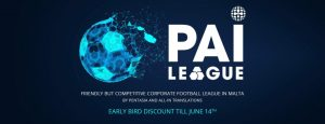 17 TEAMS CONFIRMED FOR PAI LEAGUE - EARLY BIRD EXPIRES TODAY | All-in Global