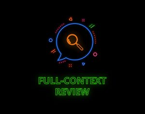 full-context review