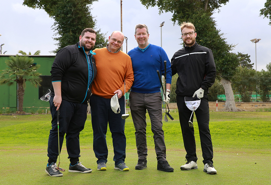 Dave Robertson Neill Simpson Andrew Crosby Henry Carre Team winners
