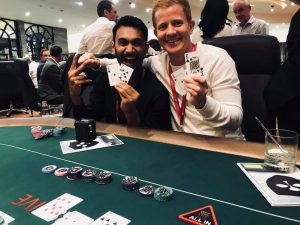 "All-in Global's favourite ""sport"" #1: Poker. The picture is from our annual tournament at the ASEAN Gaming Summit."