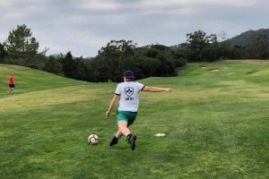 "All-in Global's favourite ""sport"" #2: Footgolf. The picture is from Penha Longa close to Lisboa."