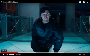 Screen shot of video with youtuber Markiplier as stealth agent