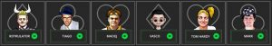 All-in Global Poker Avatars