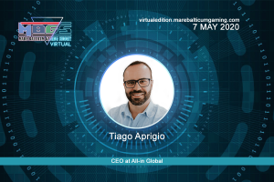 Tiago Aprigio, CEO at All-in Global will attend to MARE BALTICUM Gaming Summit