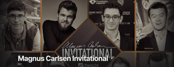 Magnus Carlsen Invitational flyer