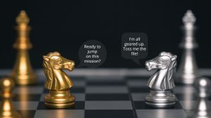 Chess horses talking about the supported file formats by All-in Global
