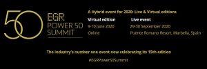 EGR Power 50 Summit