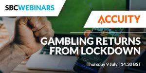 Gambling returns from Lockdown