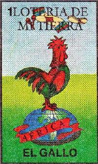 El gallo - La Loteria Mexicana