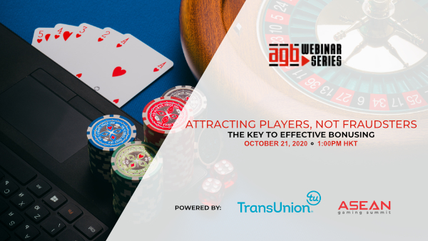AGB Webinar - Attracting Players, Not Fraudsters