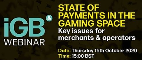 IGB webinar - State of payments in the gaming space