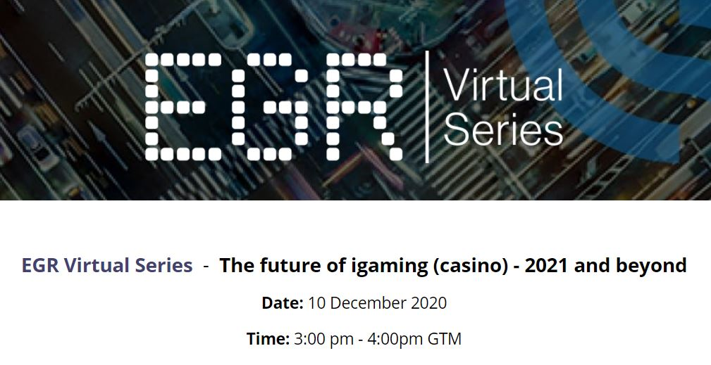 EGR - The future of iGaming (casino) 2021