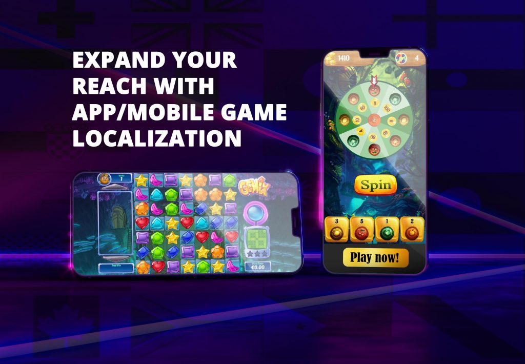 App / mobile game localization by All-in Global