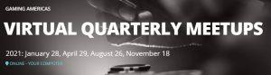 Gaming Americas virtual quarterly meetup