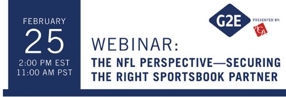 G2E Insider LIVE The NFL Perspective-Securing the Right Sportsbook Partner