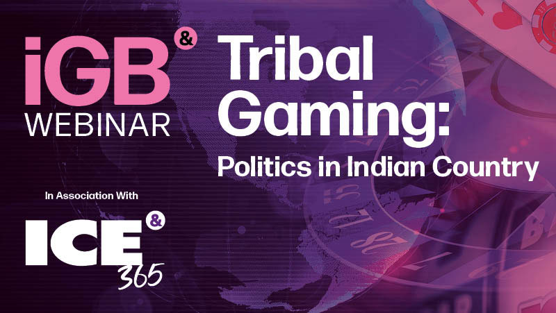 IGB webinar- tribal gaming - politics in Indian Country