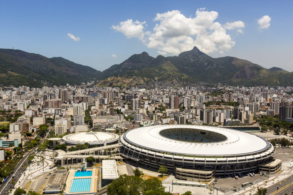 Maracanã Stadium in Brazil - Image from Wikipedia
