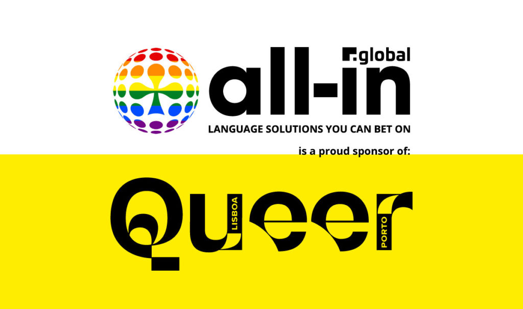All-in Global is supporting Queer Festival Lisboa