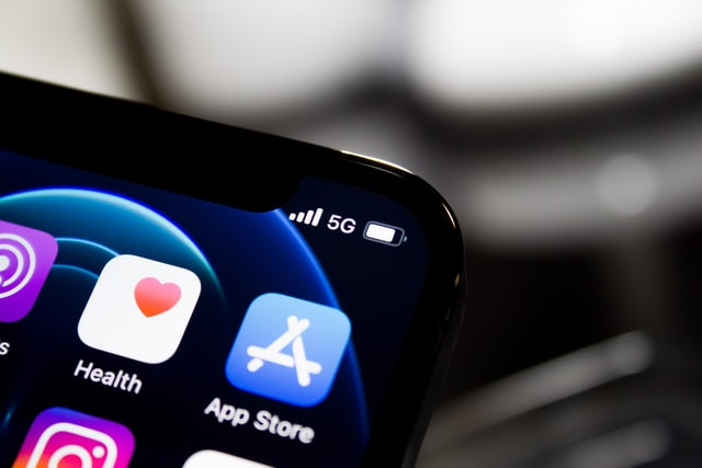 app store app on mobile screen